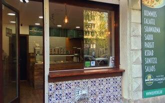 מסעדת עץ זית - לנגב חומוס בבודפשט