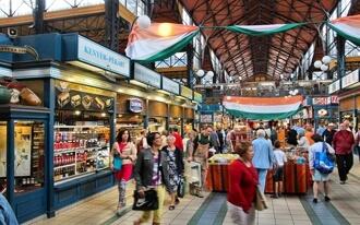 שווקים בבודפשט