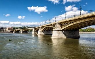 גשר מרגיט - Margaret Bridge Budapest